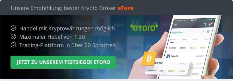 Bester Krypto Broker