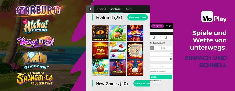 Moplay Casino Mobile App