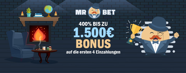 Mr Bet Bonus für Neukunden