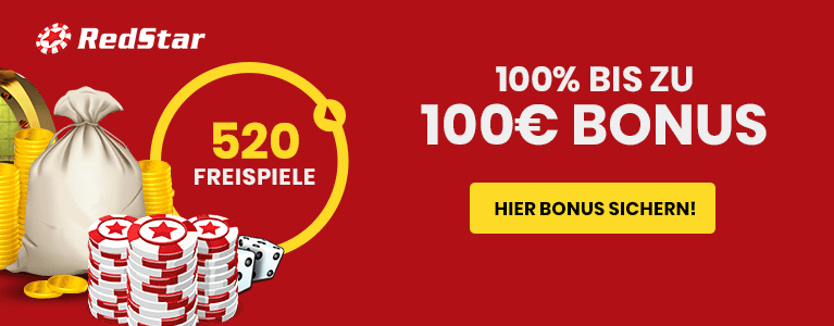 Red Satr Casino Neukundenbonus