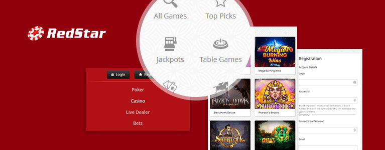 Red Star Casino App