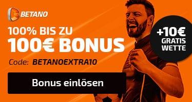 Betano 100 Euro Bonus