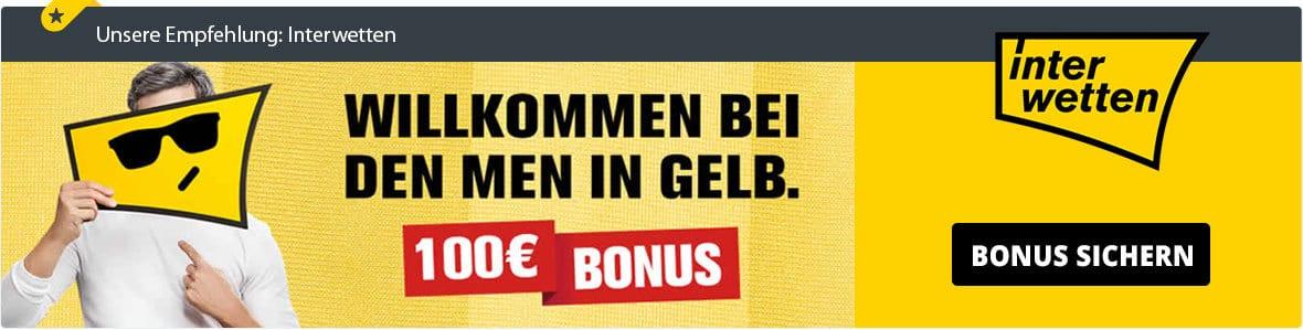Interwetten Bonus Banner
