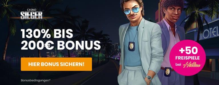 Casino Sieger Bonus + Freispiele