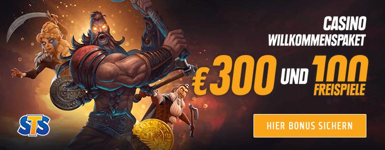 STSbet Casino Bonus