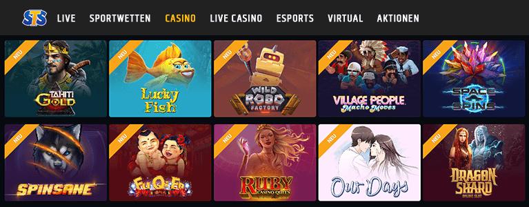 STSbet Casino Spiele