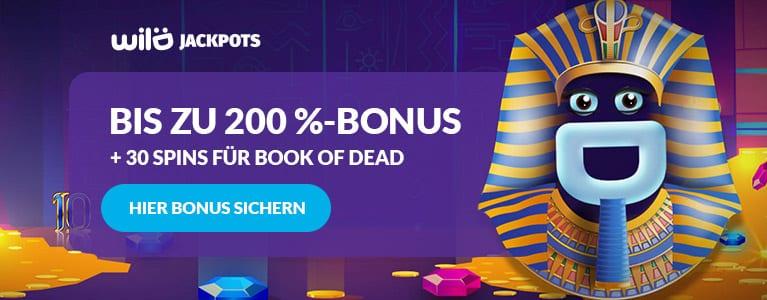 Wild Jackpots Casino Bonus