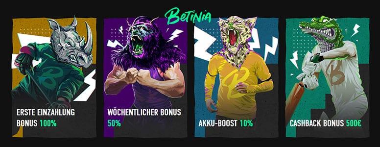 Betinia Promotion