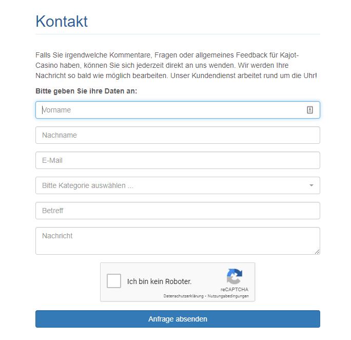 kajot Support