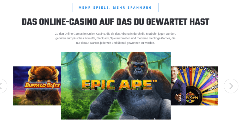 unikrn casino
