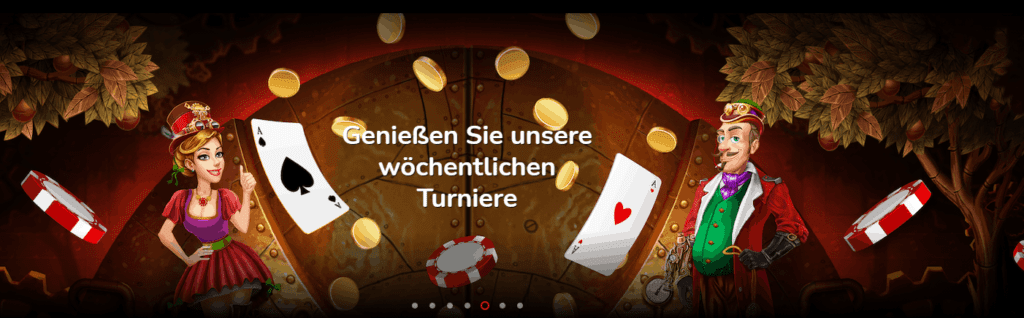 Oshi Casino Turniere
