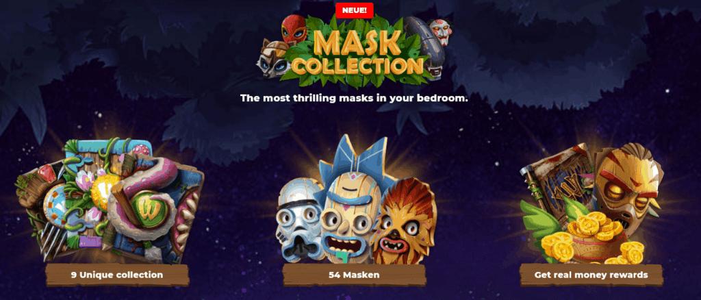 Wazamba Casino Masken