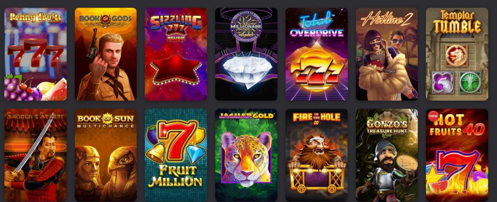 Fezbet Casino Spieleangebot